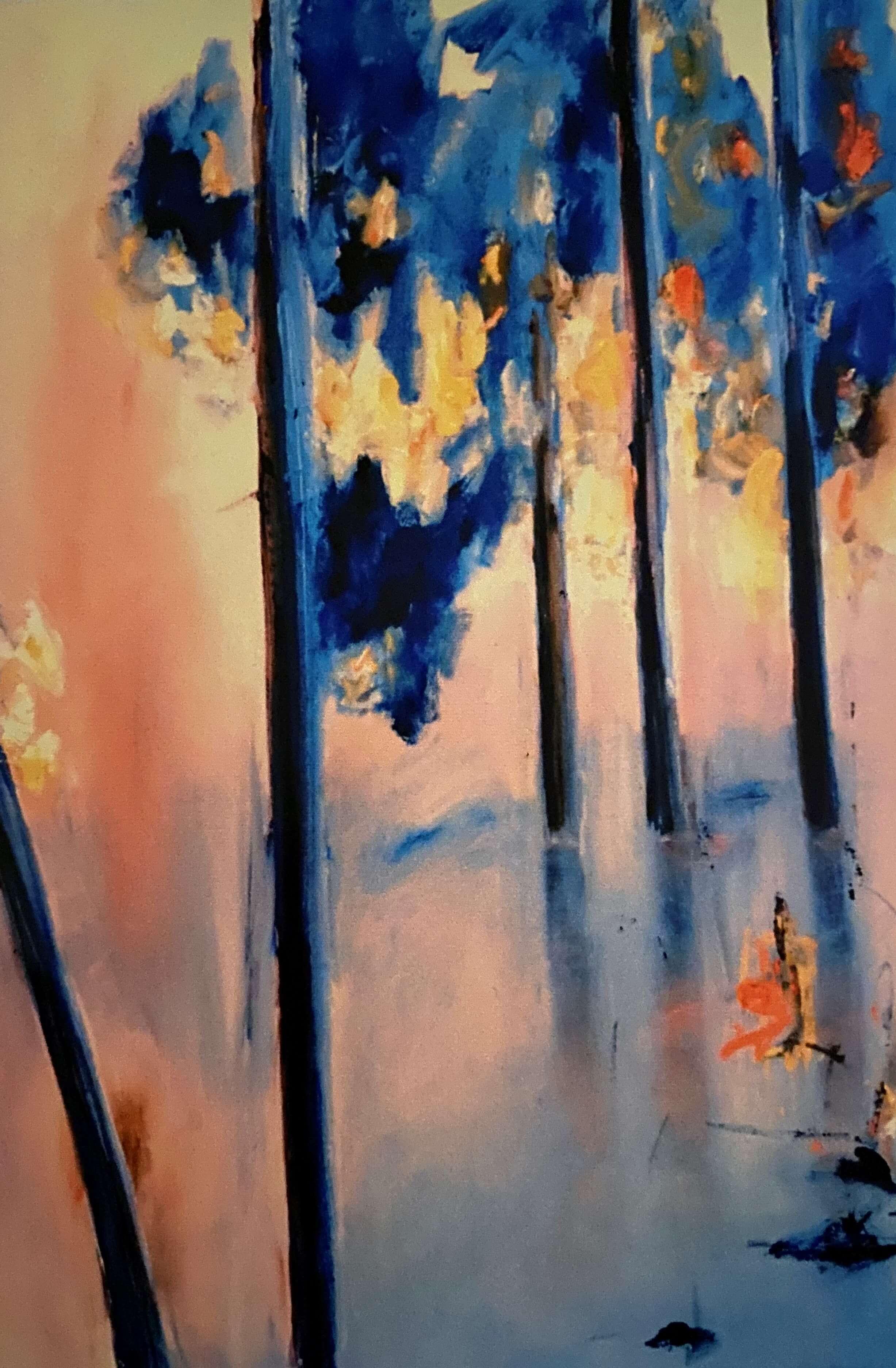 Dorothy Newland, Morning Karris 1980, oil on canvas.